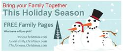 Christmas Family Pages