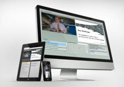 KnowledgeVision online presentations on iPhone iPad and desktop