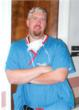 Dr. Michael Haney before losing 125 pounds on Nutrisystem.