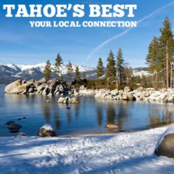 February in Lake Tahoe