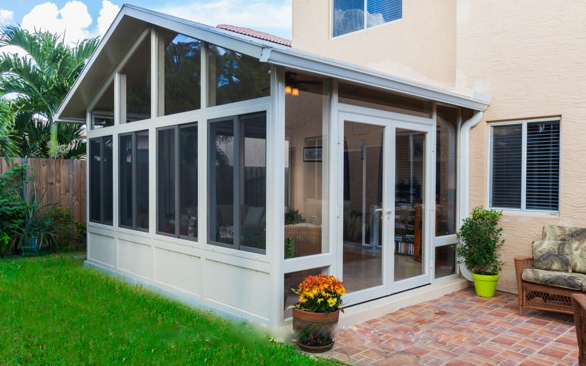 Sunroom demand drives sales in 8 communities throughout for Two story sunroom
