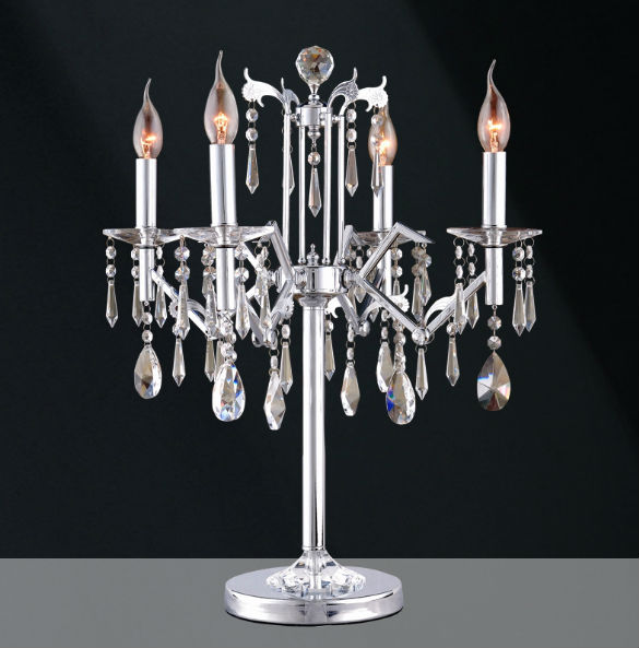danica k9 crystal chandelier table lamp at the interior gallery