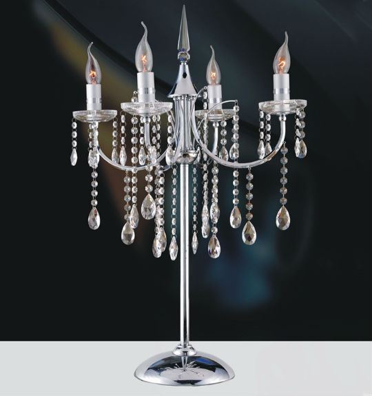 Crystal Chandelier Table Lamps: The Interior Gallery Adds New Lamps And Sconces To Their