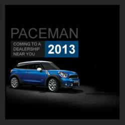 Introducing the NEW MINI Paceman