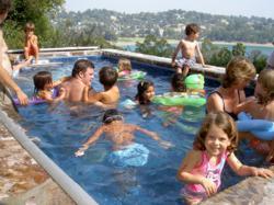 children, swimming, endless pool, pools, swim lessons