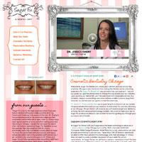 Screen shot of Sugar Fix Dental's Website