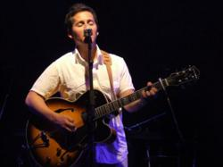 Josh Rouse playing his Signature Series Archer Guitar