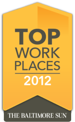 The Baltimore Sun, Top Workplaces 2012