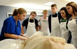 Westminster College, Fulton, MO, cadaver program