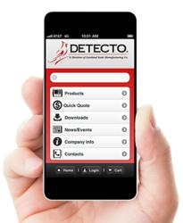 DETECTO Launches New Mobile Phone Web Site