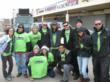 The Junkluggers employees and volunteer team on November 25, 2012