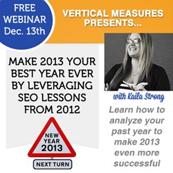 Vertical Measures SEO Webinar