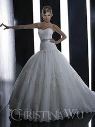 Christina Wu Wedding Dress 15508