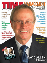 Time Management Magazine David Allen On Cover