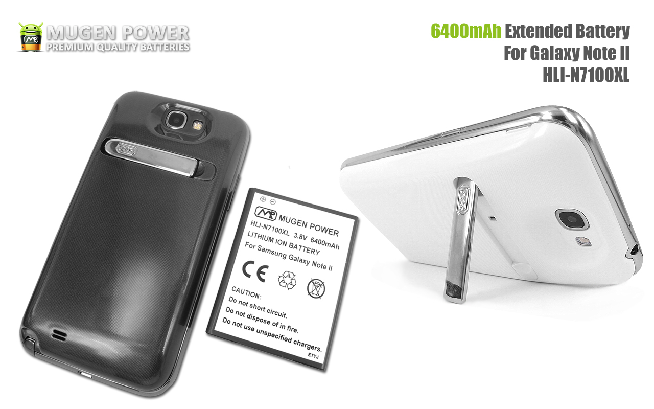 first video review of samsung galaxy note 2 6400mah extended battery published by mugen power. Black Bedroom Furniture Sets. Home Design Ideas