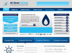 All About Savings offers the UKs leading online Business utility comparison service