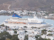 Louis Cruises Louis Cristal in the Greek Island of Patmos