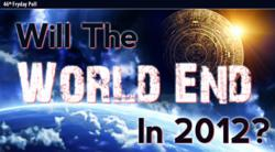 Will The World End In 2012? Facts, Theories and Predictions in New Infographic