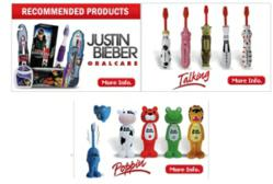 Brush Buddies Toothbrushes Product Line