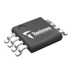 Touchstone's TSA7887 12-bit, 125-ksps Analog-to-Digital Converter (ADC) - MSOP Packaging