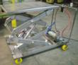 stainless steel double scissor lift