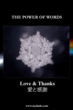Image: Love & Gratitude Water Crystal