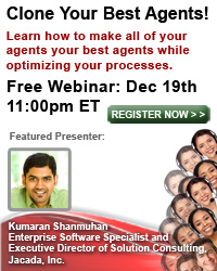 Clone Your Best Agents - Webinar Dec. 19, 2012