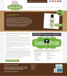 Pure Emu Oil Website