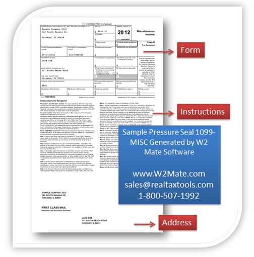 IRS Changes Form 1099-C for 2012; W2Mate.com Updates 1099 Cancellation