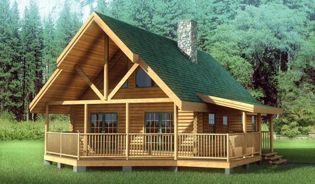 Schutt log homes and millworks plans to attend the western for Chalet cabin kits