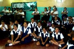 Say No to Drugs volunteers in Venezuela present the Truth About Drugs to schools and colleges throughout the country