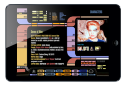 Star Trek PADD App for iPad mini created by ArcTouch app developers
