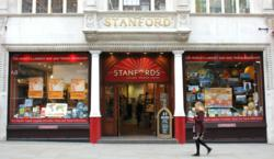 Stanfords' Long Acre shop front