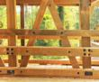 Heavy Timber Vehicular Guard Rails
