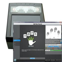 FbF LiveScan Electronic fingerprint submission for DOD security clearance background checks using SWFT program
