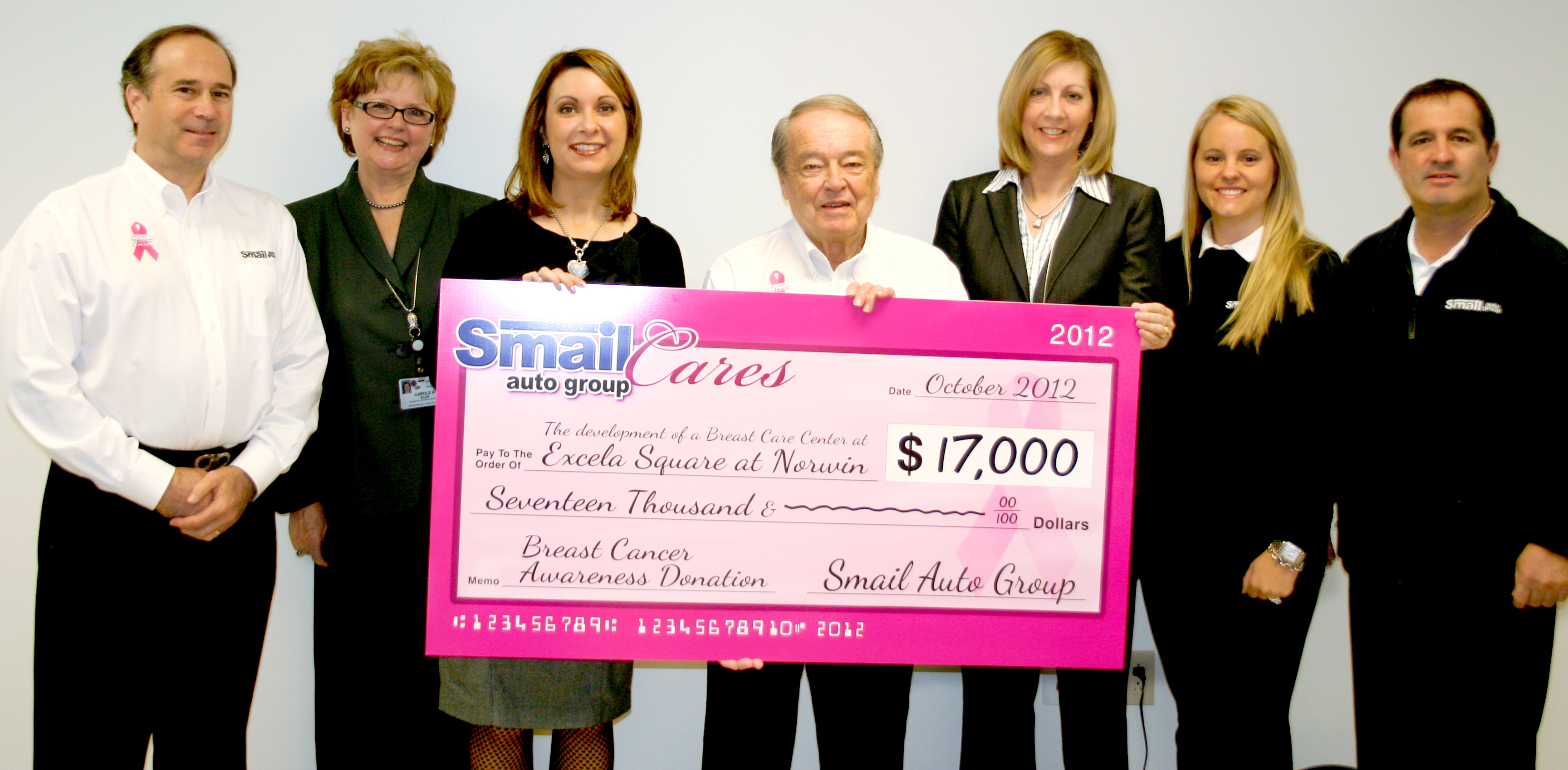 Smail Auto Group Care S Pink Ribbon Campaign Success