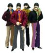 "The Beatles 12"" 1:6 Scale Action Figures John Paul George & Ringo Yellow Submarine"