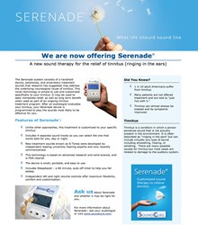 hearing aids in Edina MN - Tinnitus and Hyperacusis Clinic's Sound Cure Serenade therapy program
