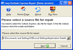 Easy Outlook Express Repair