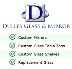 Dulles Glass and Mirror Logo