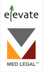 Elevate Services and Med Legal logos