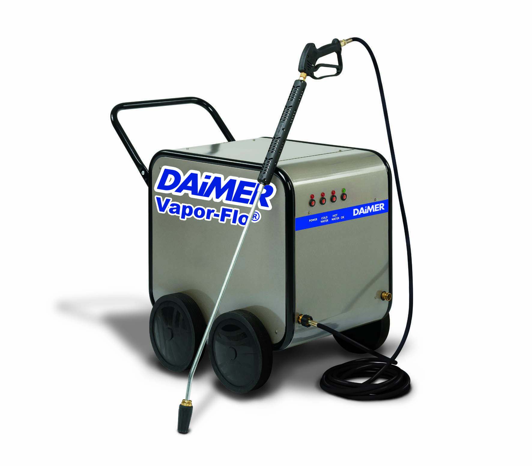 Daimer Ships Electric Pressure Washer As Steam Cleaner