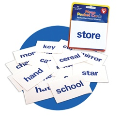 Word Pocket Cards from Hygloss Products