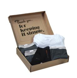 Simple Man Subscription of premium pima cotton underwear for men