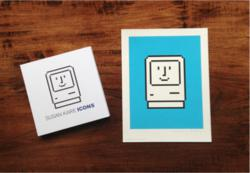 Susan Kare Design - Art Prints, ICONS book