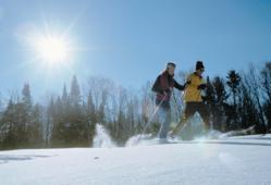 Cross Country Skiing in New York's Adirondack Mountains