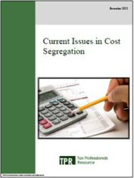 Current Issues in Cost Segregation