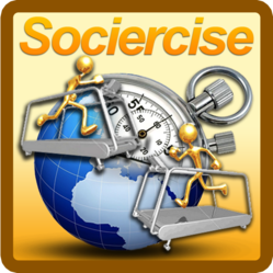 Sociercise-Real Time Running Races