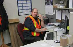 Jonathan Assels, Parts Fulfillment Manager.