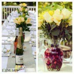 Holiday Hostess with The Mostess, DIY centerpiece instructions on our Pinterest